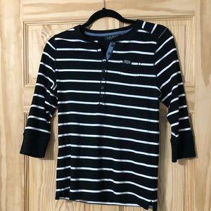 Lauren by Ralph Lauren striped shirt